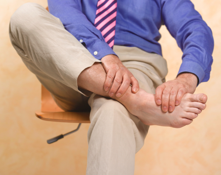 Síntomas de la EPOC: hinchazón tobillos y piernas