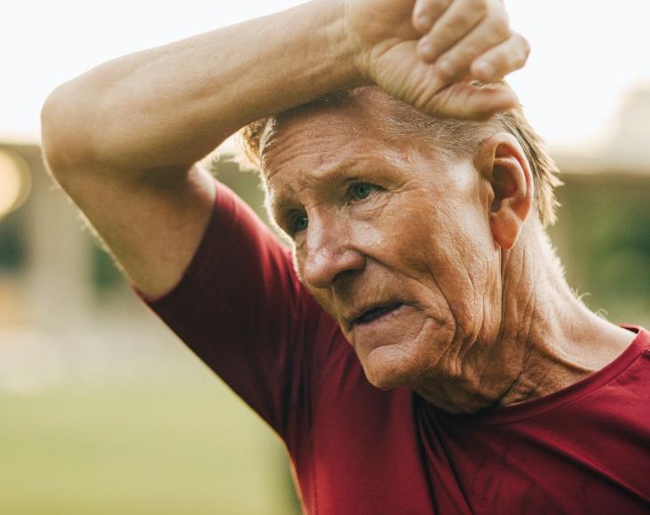Síntomas de las infecciones respiratorias: Palpitaciones, taquicardia y sensación de cansancio.