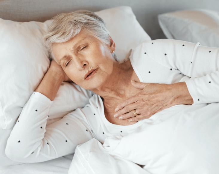 Síntomas de la apnea del sueño: Despertarse con sensación de ahogo